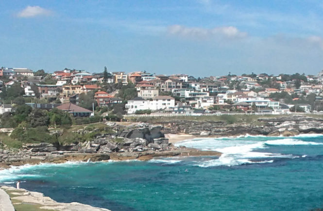 Walking the coast of Sydney