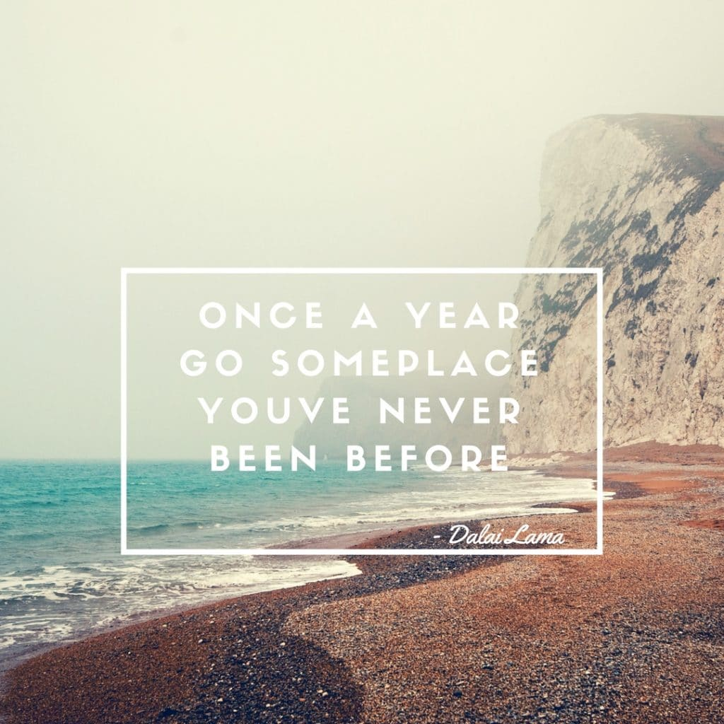 Once A Year Go Someplace Youve Never Been Before - freetobebri.com