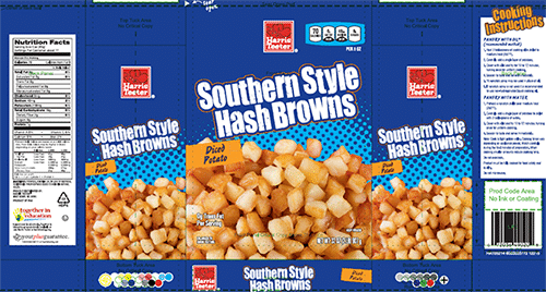Harris Teeter Hash Browns voluntarily recalled because they may contain golf ball materials