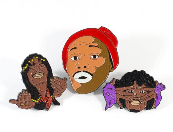 Dave Chapelle Set by Allways Holdn @ TaylorandSonsGifts on Etsy