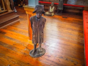 Black Art Sculpture from The Children of Whitney at the Whitney Plantation FREETOBEBRI.COM