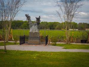 Sculpture at the Whitney Plantation - FREETOBEBRI.COM