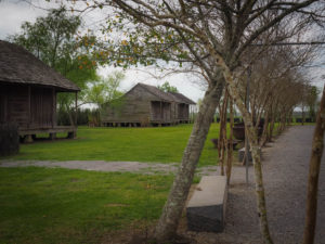 View of slave cabins at The Whitney Plantation Tour - FREETOBEBRI.COM