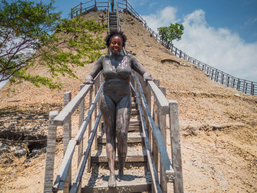 Exploring Cartagena, Colombia: El Tutomo Mud Volcano