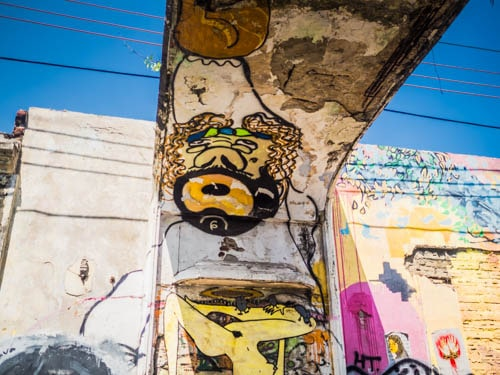Graffiti Street Art in Cartagena Colombia